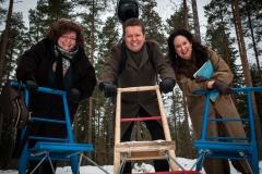 The Jones Band. Kreeta-Maria Kentala, Lauri Pulakka, Mitzi Meyerson.